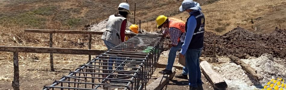 SE INICIARON LOS TRABAJOS EN LA CONSTRUCCIÓN DEL SALÓN MULTIFUNCIONAL