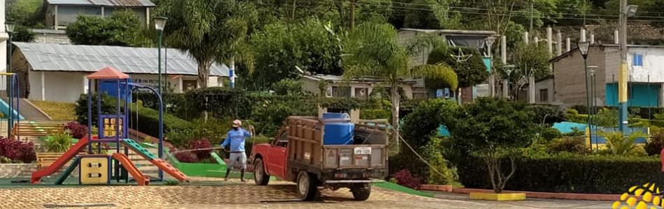 JORNADAS DE FUMIGACION SE HAN INICIADO EN LA PARROQUIA TORATA