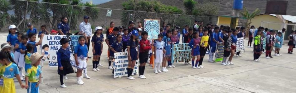 INAGURACION DE LOS JUEGOS DEPORTIVOS